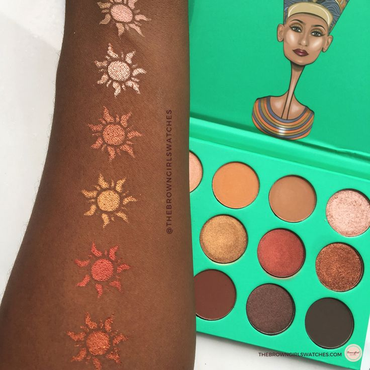 Juvia's Place Nubian Palette Review + Swatches on Brown Skin