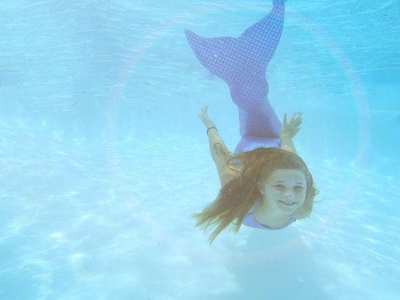 Swimmable/Walkable Mermaid Tail with Monofin by TAILZmermaidGear