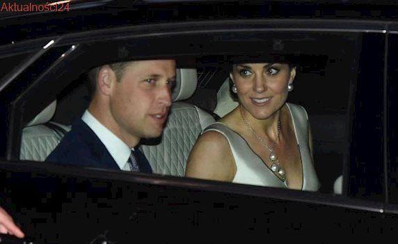 Księżna Kate i książę William zażyczyli sobie specjalnej limuzyny Jaguara [MAMY ZDJĘCIA]