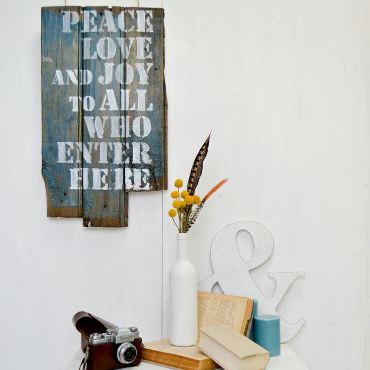 Деревянные слова #decor