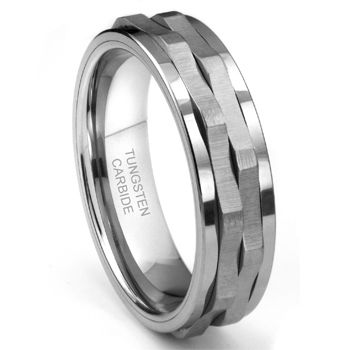Ninja Star Tungsten Carbide Spinning Wedding Band Ring  awesome name  :)  looking for a fidget ring for mah baby lol...  http://www.titaniumkay.com/Ninja-Star-Tungsten-Carbide-Spinning-Wedding-Band-Ring-P104162.html#
