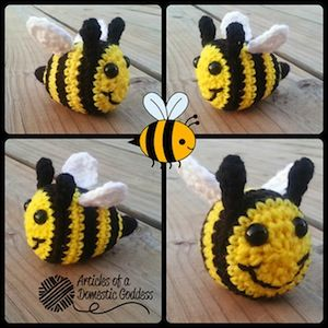 1000 Images About Bumble Bee Crochet Patterns On