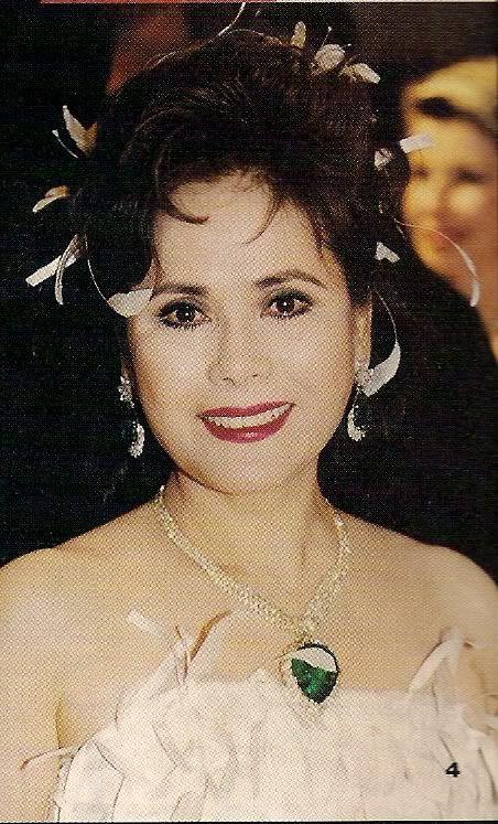 Dewi Sukarno Bal Rose Montecarlo 1991