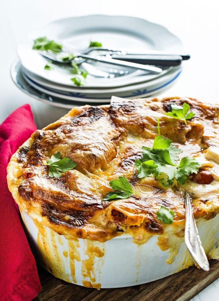 Hyvä lasagne on yhdistelmä rapeaa pintaa ja mehevyyttä. Tässä on molempia. Tomaatti-mascarponelasagne vain paranee, kun se lämmitetään uudelleen
