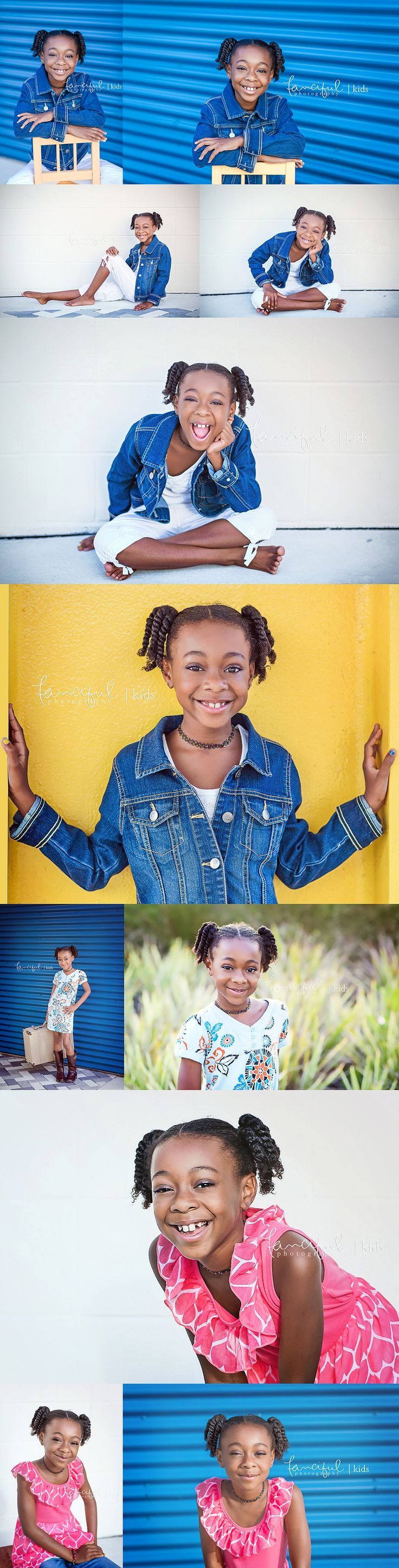 Child Modeling Comp Card and headshot session  #photography #compcard #headshot #fancifulphotography