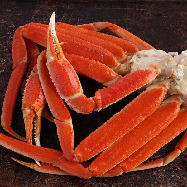 Snow Crab Leg Clusters - 10 lbs. Alaskan Snow Crab Legs - Chionoecetes opilio…