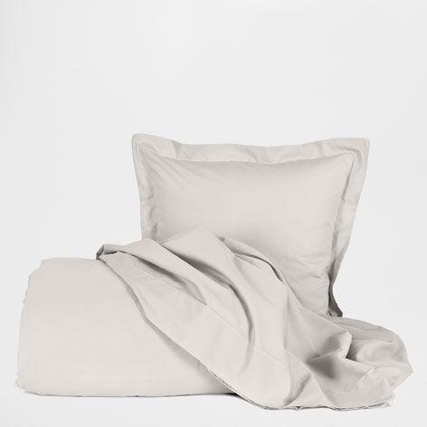 Basic Perkal Lakens en Kussenslopen, Kleur Grijs Gemêleerd 90 x 150 | Zara Home Netherlands