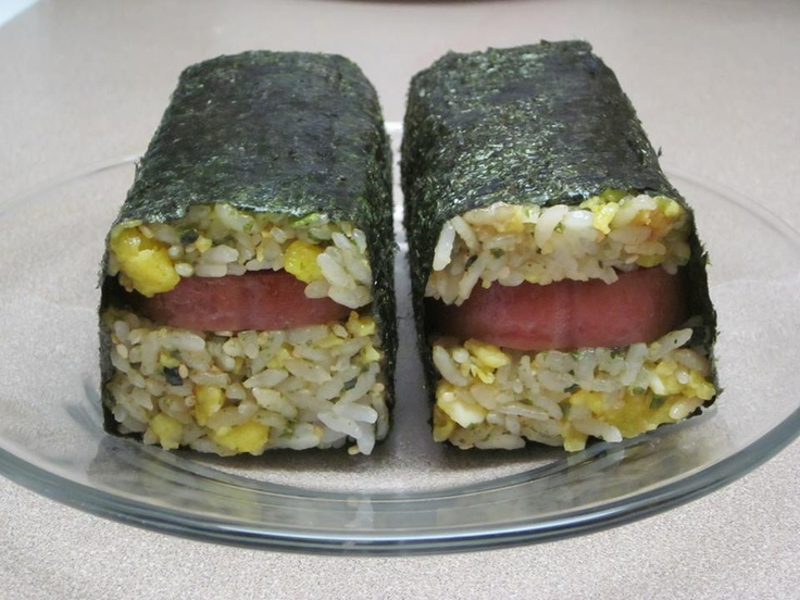 Spam Fried Rice Musubi . Author of this recipe is Ono Kine Friend Christianna O'Callaghan © 2013 Ono Kine Recipes. All Rights Reserved. ONO KINE RECIPES posts these recipes that belongs to the author, enjoy making it but don't be taking it. This is super simple to make. Everyone should know the basics when making musubi. Here goes...