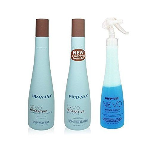 PRAVANA NEVO REPARATIVE SULFATE FREE SHAMPOO, CONDITIONER, INTENSE THERAPY by Pravana *** Find out more at the image link. #hairupdos