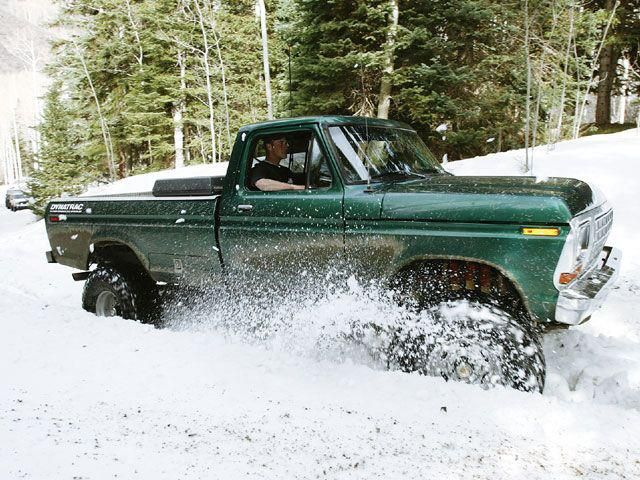 """The classic '78-'79 F250 best 4x4 """"Truck"""" of all time."""