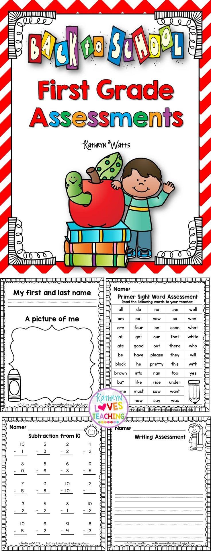 Worksheet First Grade best 25 first grade ideas on pinterest centers back to school assessments grade
