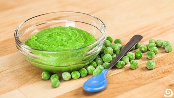 Steamed Peas Baby Food Recipe   Blendtec