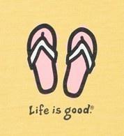 Life is good.: Flipflops, Idea, Flops Lifeisgood, Lifeisgood Dowhatyoulike, Lifeisgood Thinkspring, Summer, Flip Flops, Life Is Good
