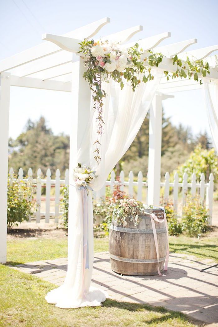 25 best ideas about wedding pergola on pinterest for Archway decoration