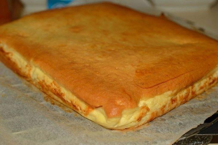 Plăcintă turnată cu brânză dulce de vaci — un deliciu, care nu va lăsa pe nimeni indiferent!