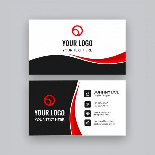 Modern Professional Business Card Business Card Design Professional Business Cards Business Cards