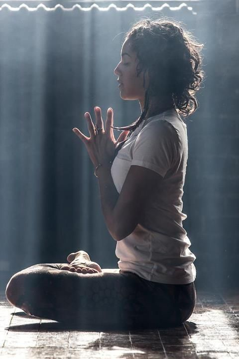 anjali mudra. be lovely inside and out.
