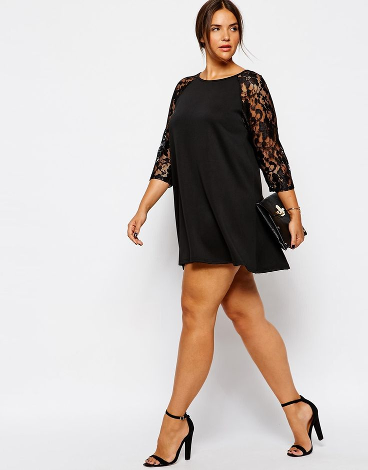 image 4 club l robe en n opr ne grande taille avec manches en dentelle beaute des femmes. Black Bedroom Furniture Sets. Home Design Ideas