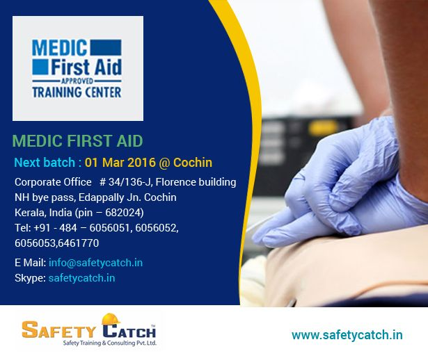 HURRY, Join now!!  Safety CatchTraining give you the best #MEDICFirstAid #training program starting on 1st march 2016.  For Online Registration: http://bit.ly/Training_Registration Contact us for details: http://bit.ly/Contact_SafetyCatch