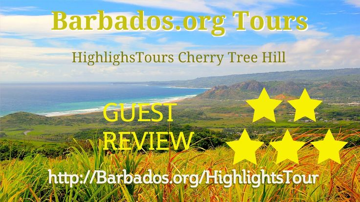 """A view to remember"" is how one visitor described the stunning scenery at Cherry Tree Hill #Barbados."