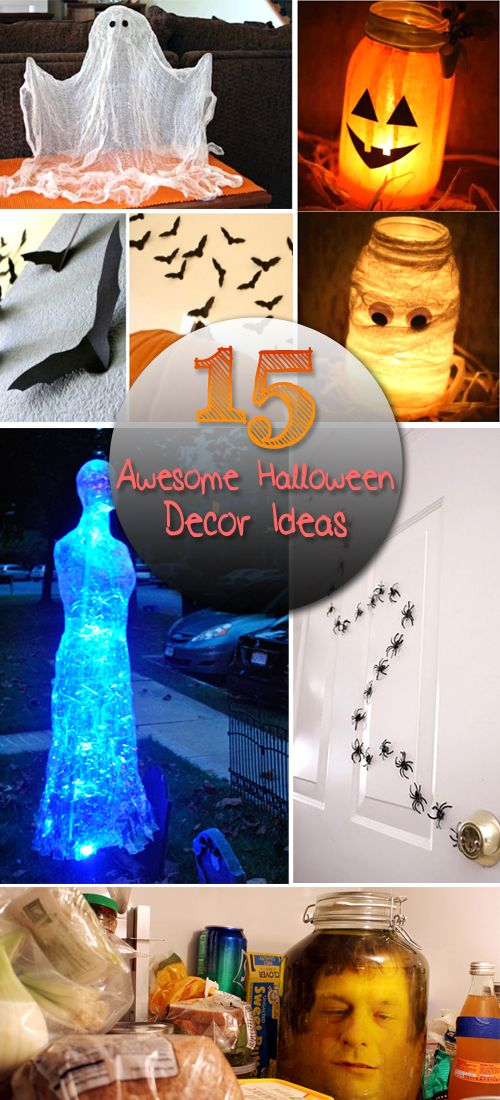 15 Super Awesome Halloween Decor Ideas