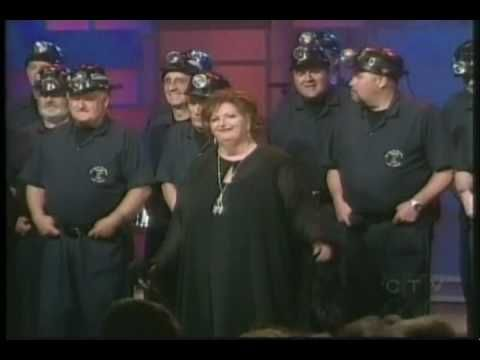 Savoy Theatre Men of the Deeps & Rita MacNeil 2 - YouTube - Singing Home I'll Be