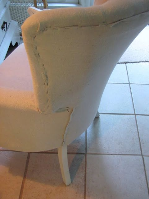 How to Re-upholster a Chair When You Have No Idea What You are Doing