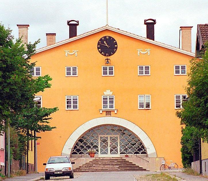 Erik Gunnar Asplund Lister County Courthouse Solvesborg, Sweden 1917 - 1921