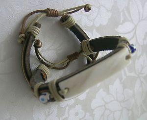 Lederarmband-leder schmuck-Hippie-Boho-reggae-rocker-leder-gothic-armband-schmuck */*  Leather bracelet leather jewelry hippie boho-reggae-rocker-gothic-leather-bracelet-jewelry