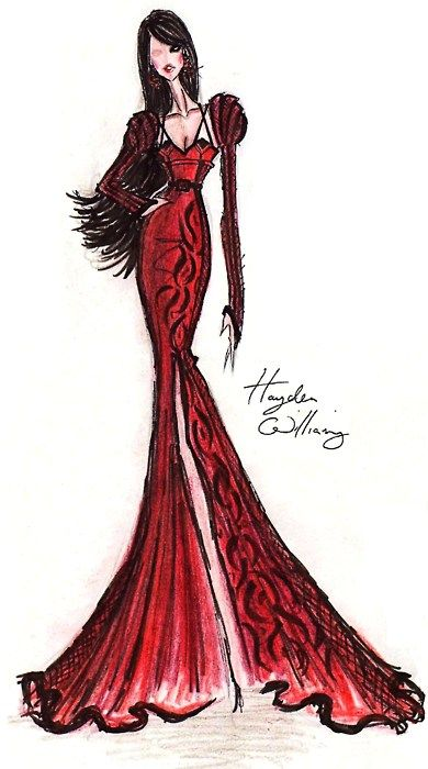 Illustration - Hayden Williams for Fashion Royalty: Red Hot Revenge