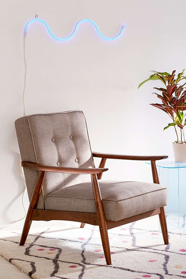 Great Online Only Wyatt Vegan Leather Chair