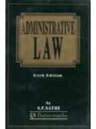 Administrative Law : Butterworth (Paper Back)