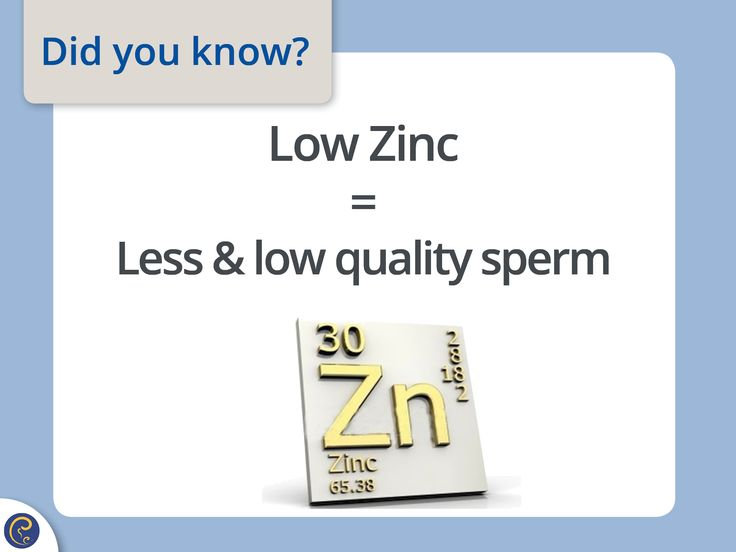Zinc is necessary for making the outer membrane and tail of the sperm and for the sperm to mature properly.  Start including Zinc rich foods into your diet such as: beans, spinach, oysters, red meat and pumpkin seeds. Abstain from alcohol which substantially lowers zinc absorption