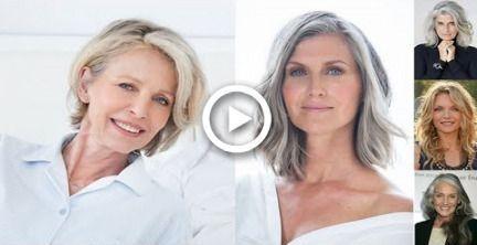 2019 Haarschnitte für ältere Frauen über 50  Frisuren für über 60  Für all…