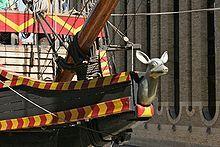 Golden Hind - Wikipedia, the free encyclopedia the figurehead.