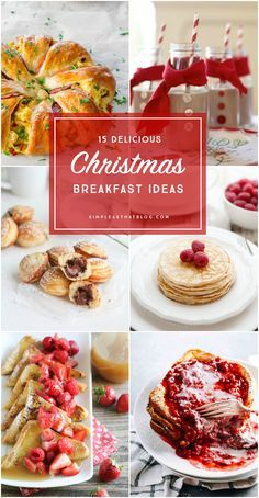Breakfast ideas the whole family will love waking up to Christmas morning!