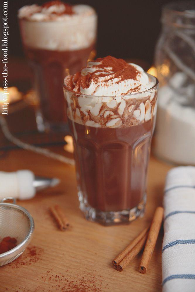 Pass the Food: Piernikowa gorąca czekolada hot chocolate