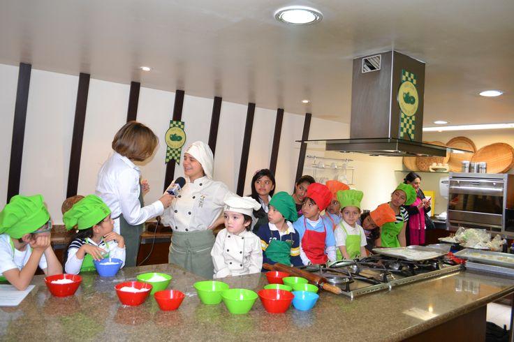 Curso de niños, Academia de Cocina Verde Oliva- Noticias Caracol