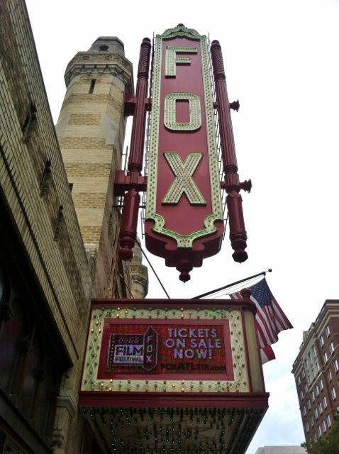 The beautiful Fox Theatre in Atlanta, Georgia - -- I'd love to share #Atlanta with you! Please vote once a day for me to be @Jauntaroo's Chief World Explorer at http://www.bestjobaroundtheworld.com/submissions/view/1280