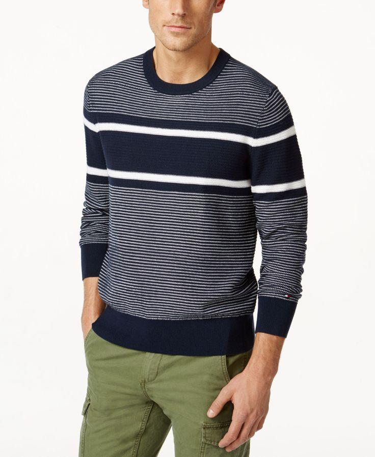 Tommy Hilfiger Keanu Mixed-Stripe Sweater
