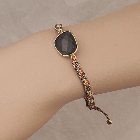Multicolor Bracelet Black Onyx