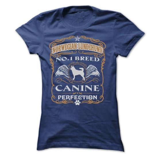 NORWEGIAN LUNDEHUND NO 1 BREED CANINE PERFECTION T Shirts, Hoodies, Sweatshirts. CHECK PRICE ==► https://www.sunfrog.com/Pets/NORWEGIAN-LUNDEHUND-NO-1-BREED-CANINE-PERFECTION-T-SHIRTS-Ladies.html?41382