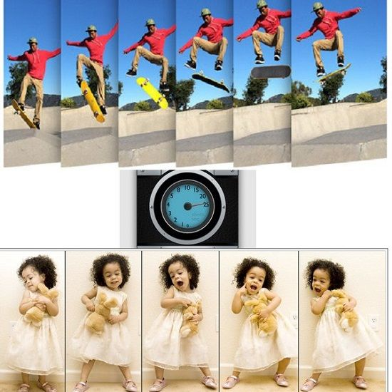 Turn your smartphone into a high speed camera with Fast Burst Camera