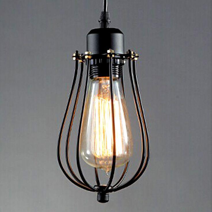 ebay vintage industrial retro pendant light ceiling lamp iron edison chandelier 12cm kiven - Edison Chandelier