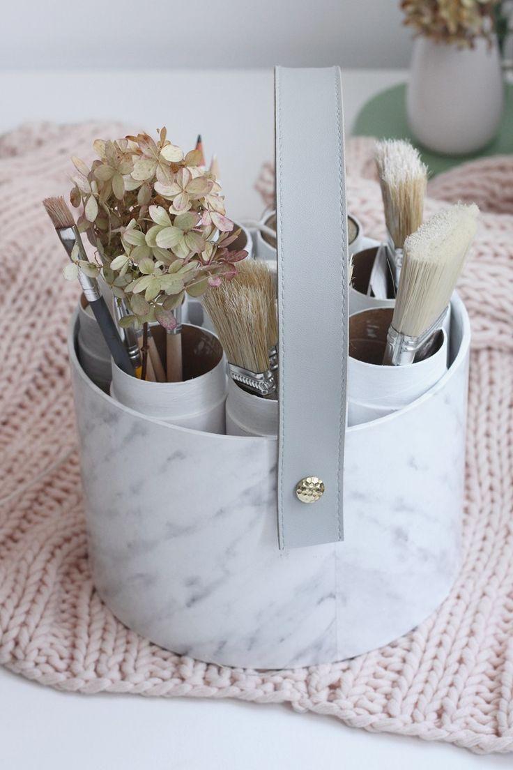 wydekoruj - Stylowy pojemnik do przechowywania DIY! #inspirujeresibo