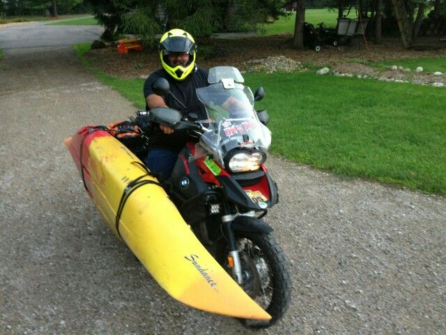 Should I go Kayaking or Riding? What was the question? R1200gs Adventure