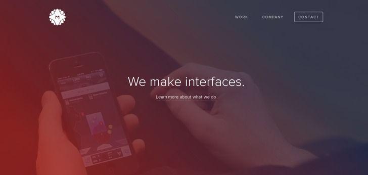 Smooth Web design for a digital gency