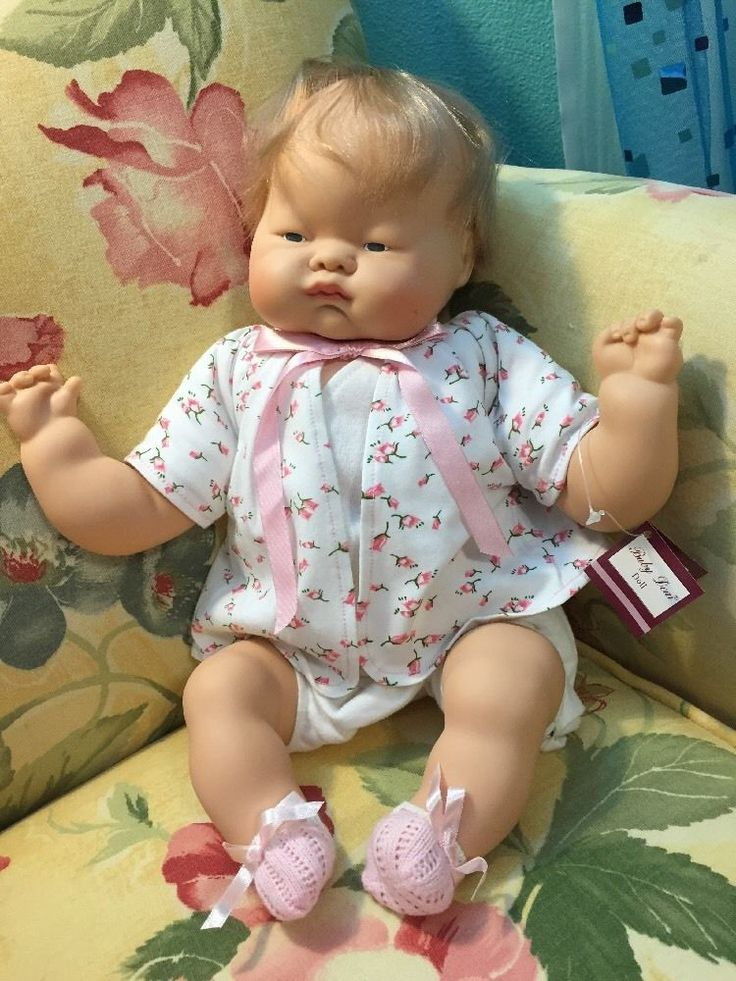 Baby Dear Doll Reproduction 2003 Of 1960s Doll 1960s