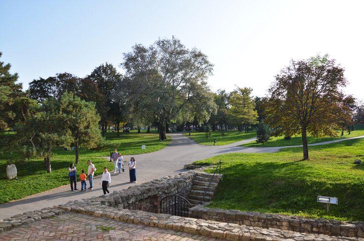 Kalemegdan park, Belgrade, Serbia