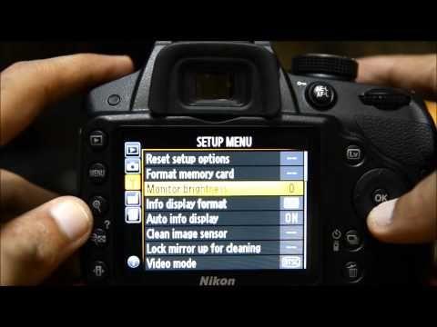 Nikon D3200 Tutorial - How to Set Up Nikon D3200 Menu Guide Tutorial....